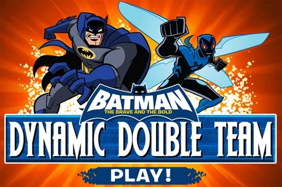 Batman: The Brave and the Bold Games Dynamic Doubleteam