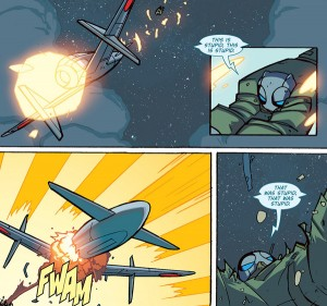 Atomic Robo: The Flying She Devils of the Pacific #3