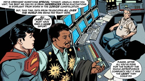 Neil deGrasse Tyson discovers Krypton