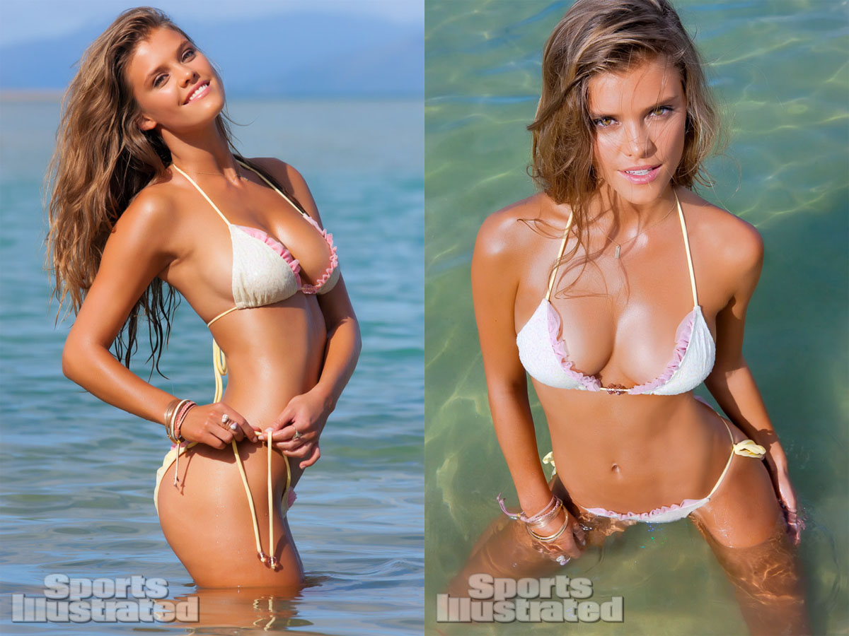 Body Paint Hawaii >> Sports Illustrated 2013 Swimsuit Model Nina Agdal