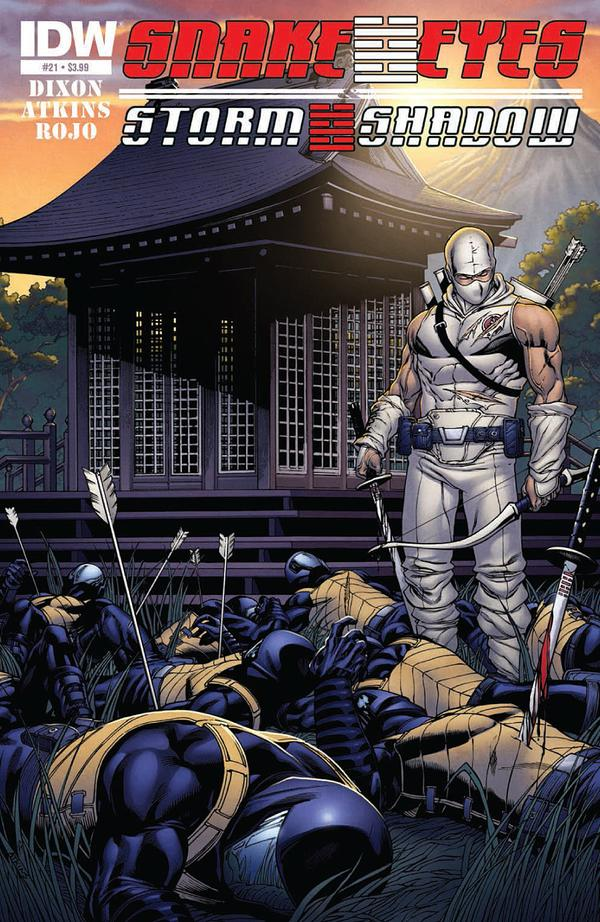 Snake Eyes and Storm Shadow #21