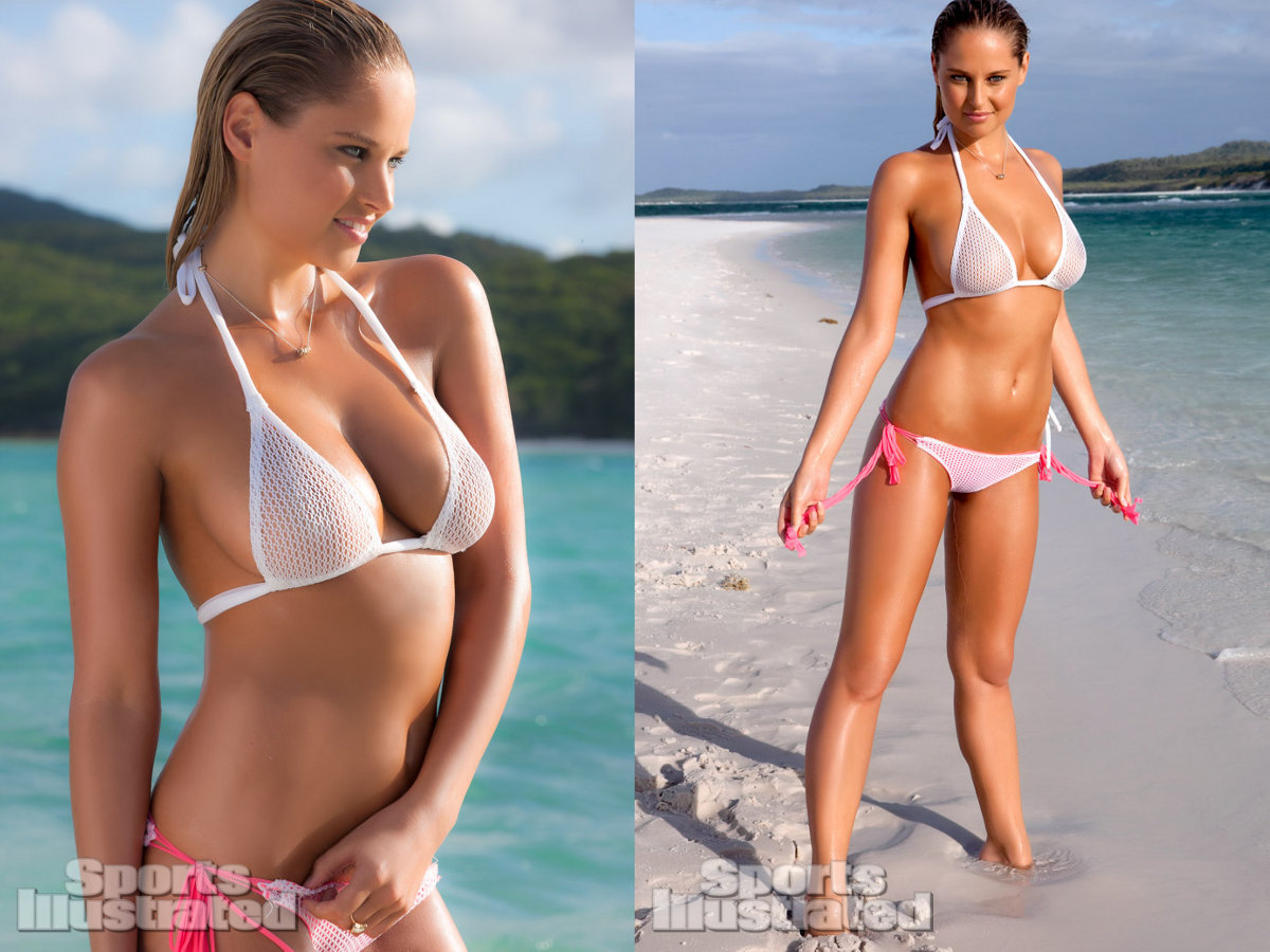 Sports Illustrated 2013 Swimsuit Model Genevieve Morton