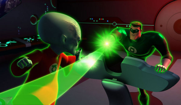 Green Lantern: The Animated Series - Scarred