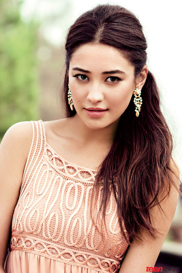 Shay Mitchell is a Stand Out for Teen Vogue