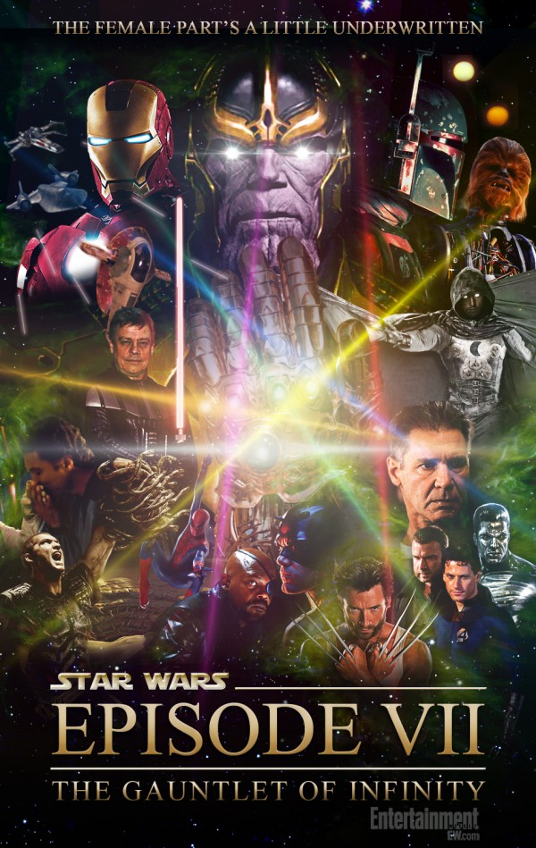 Star Wars: Episode VIII - The Gauntlet of the Infinity