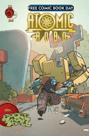 Atomic Robo Free Comic Book Day 2013