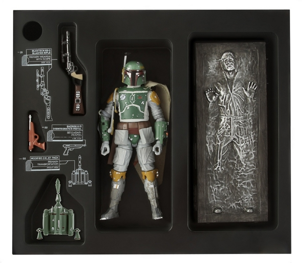 Star Wars Black Boba Fett SDCC Exclusive Figure