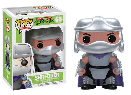 >Teenage Mutant Ninja Turtles Shredder Pop! Vinyl Figure