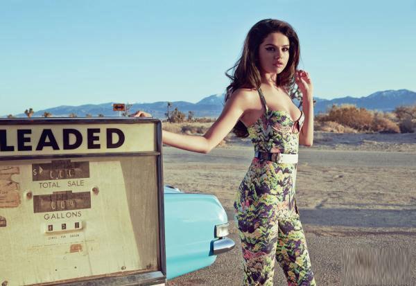 Selena Gomez is InStyle