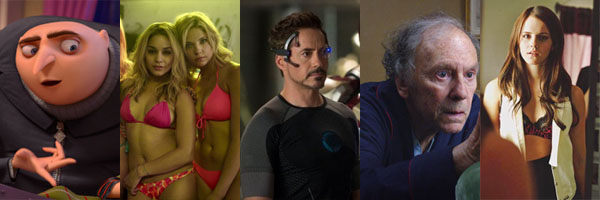 The Top Ten Movies of 2013 (so far)