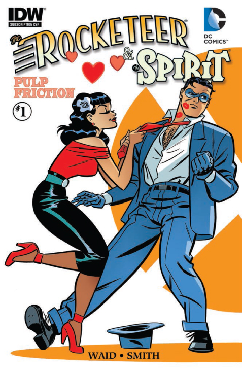 The Rocketeer & The Spirit: Pulp Friction #1