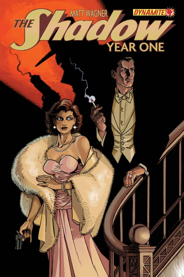 The Shadow: Year One #4
