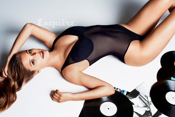 Nina Agdal heats up summer for Esquire