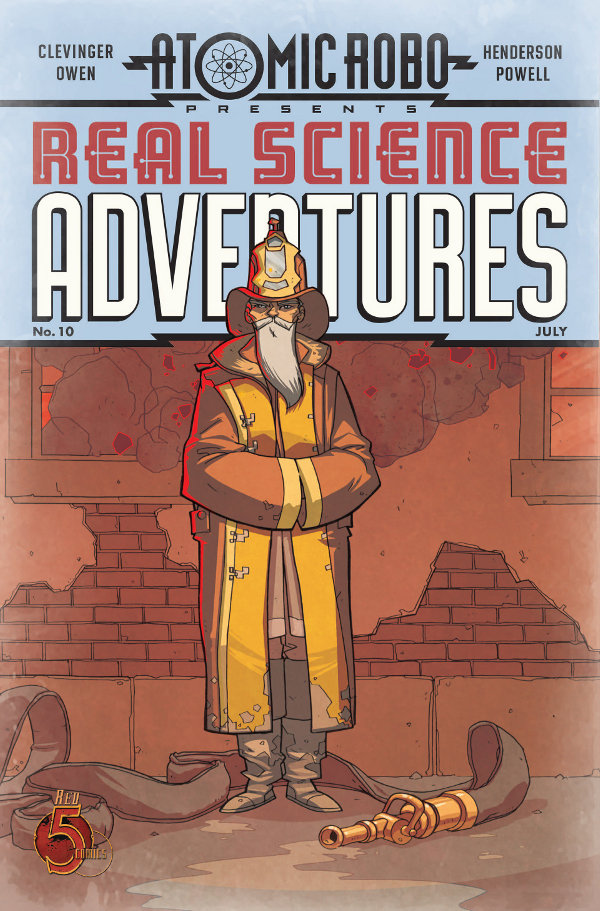 Atomic Robo Presents Real Science Adventures #10