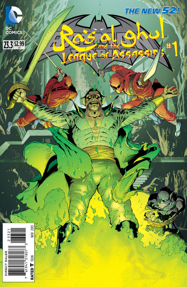 Ra's al Ghul and the League of Assassins #1