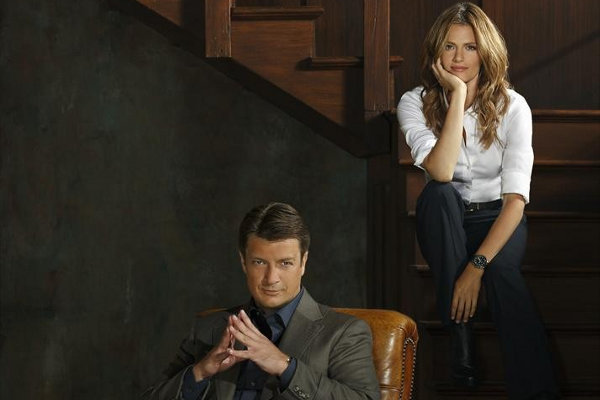 Castle Season Six Promotional Pics