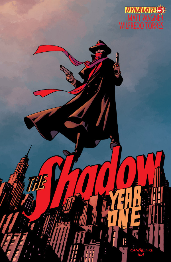 The Shadow: Year One #5