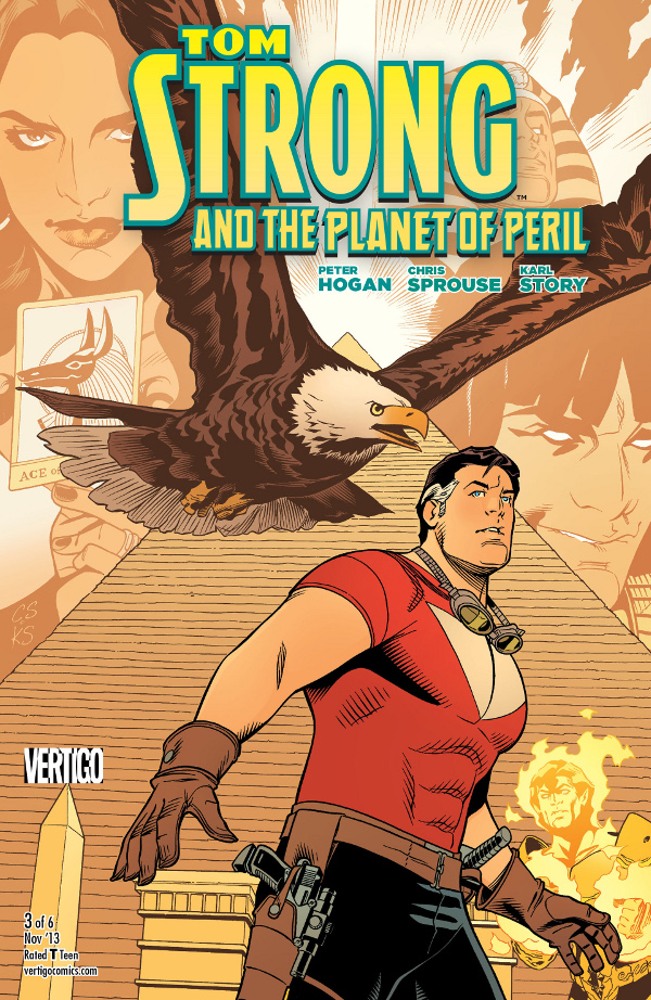 Tom Strong and the Planet of Peril #3