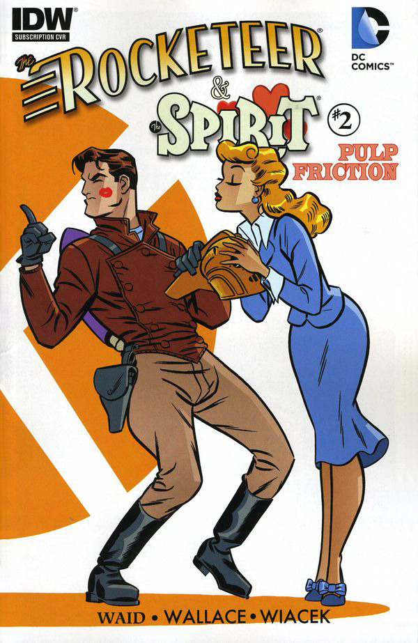 The Rocketeer & The Spirit: Pulp Friction #2