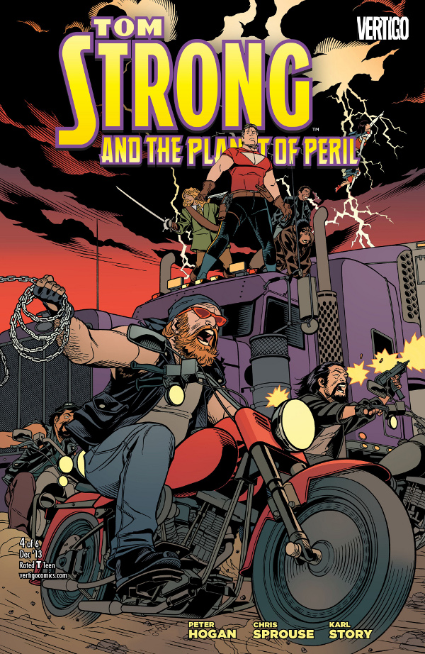 Tom Strong and the Planet of Peril #4