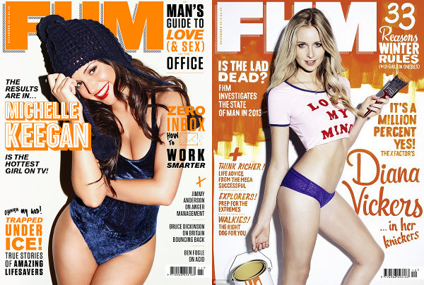 FHM covers Diana Vickers and Michelle Keegan