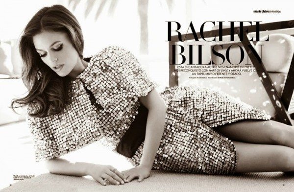 Rachel Bilson goes south of the border for Marie Claire