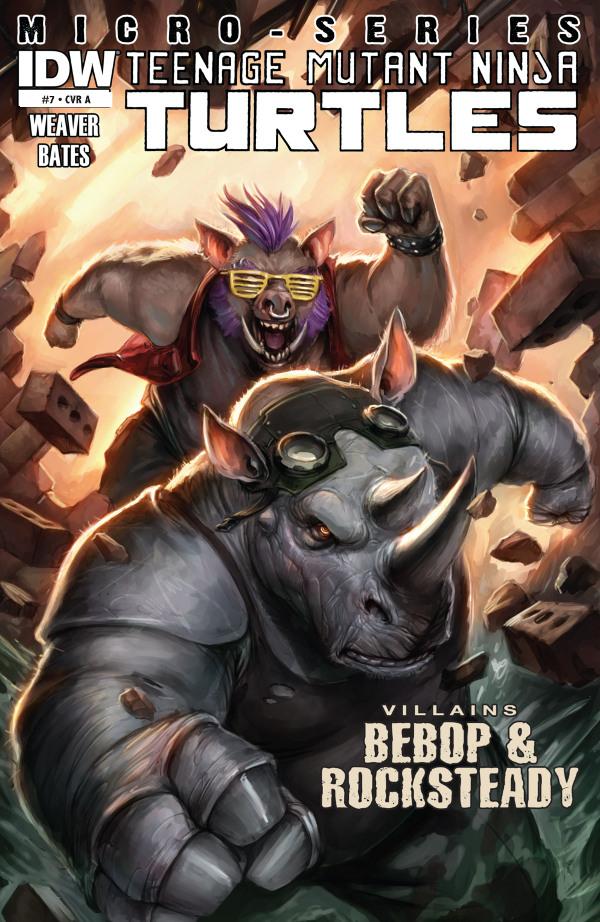 Teenage Mutant Ninja Turtles - Bebop & Rocksteady
