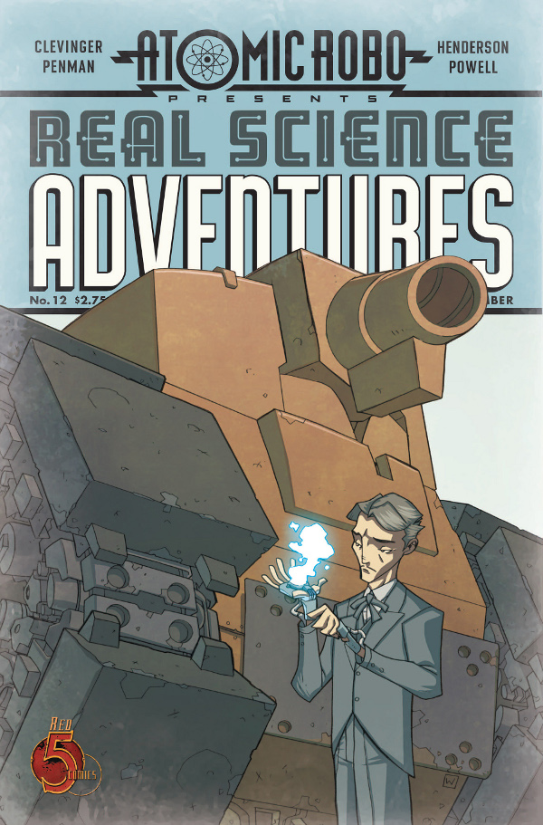 Atomic Robo Presents Real Science Adventures #12