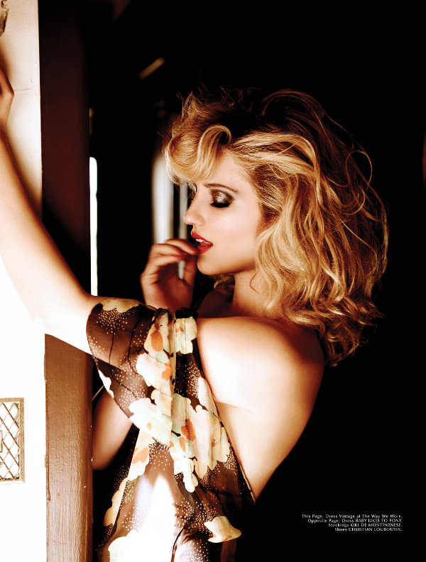 Dianna Agron - Galore (2014 Calendar Girl Issue)