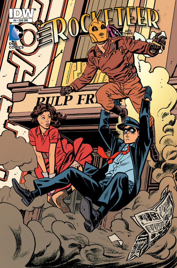 The Rocketeer & The Spirit: Pulp Friction #4