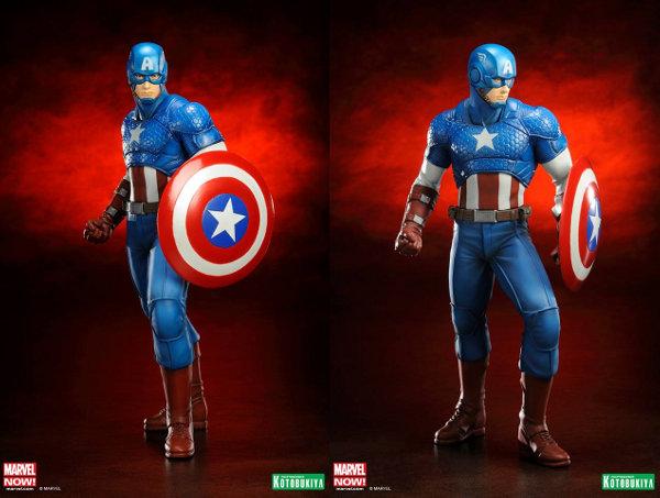 Captain America Avengers Now ARTFX+ Statue