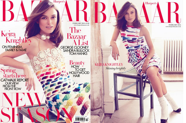 Keira Knightley - Harper's Bazaar UK (February 2013)