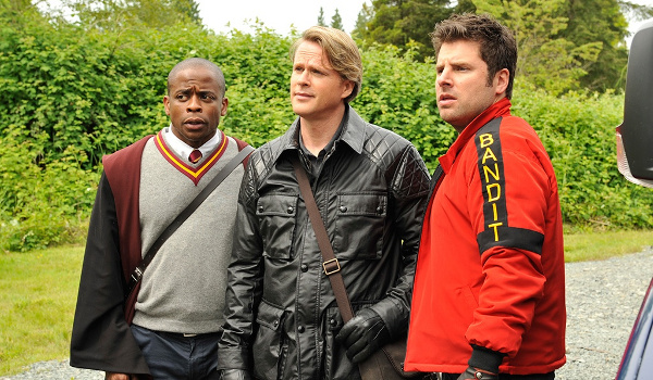 Psych - Lock, Stock, Some Smoking Barrels and Burton Guster's Goblet of Fire