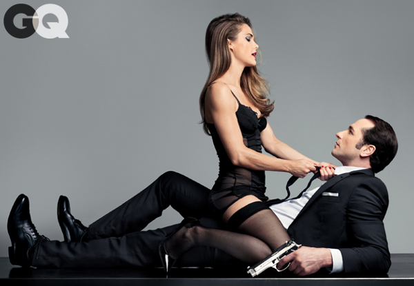 Keri Russell and Matthew Rhys - GQ (February 2014)