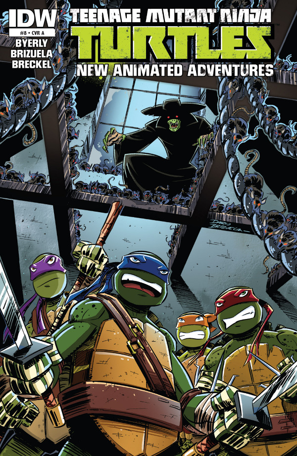 Teenage Mutant Ninja Turtles: New Animated Adventures #8