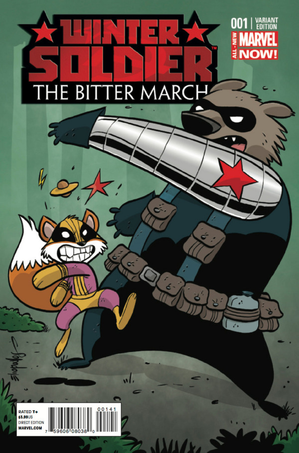 Winter Soldier: The Bitter March #1