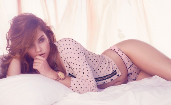Barbara Palvin - Twin-Set Lingerie Spring-Summer 2014