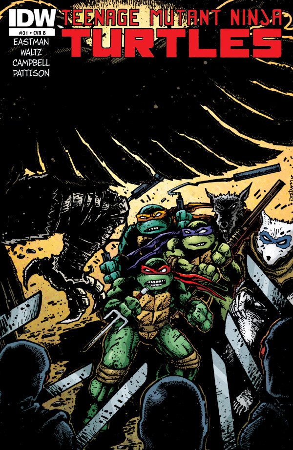 Teenage Mutant Ninja Turtles #31