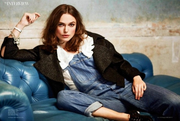 Keira Knightley - Harper's Bizarre Arabia (April 2014)