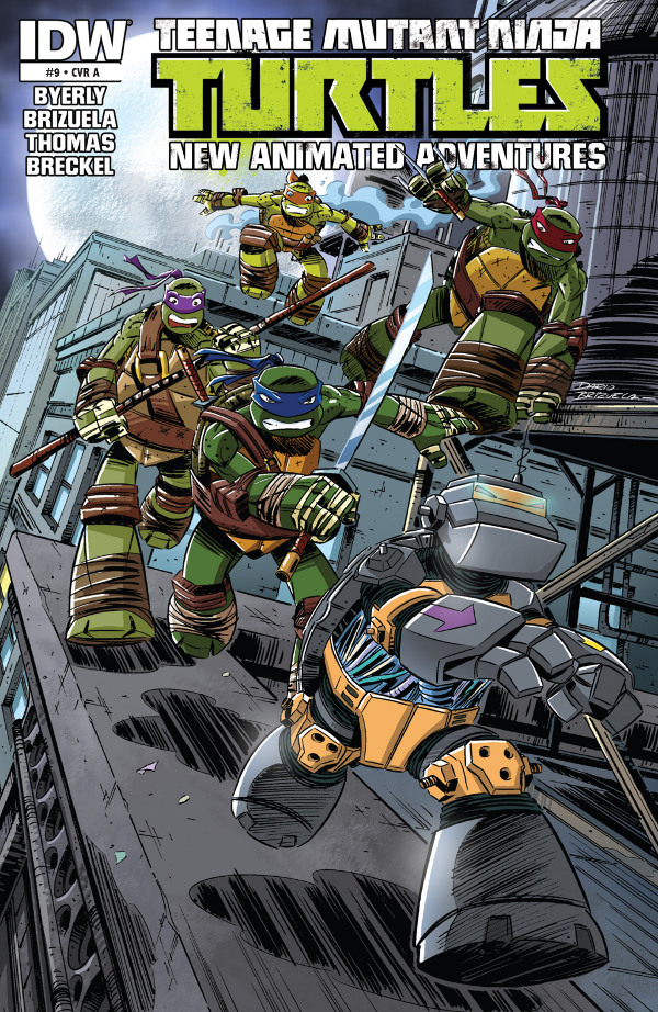 Teenage Mutant Ninja Turtles: New Animated Adventures #9
