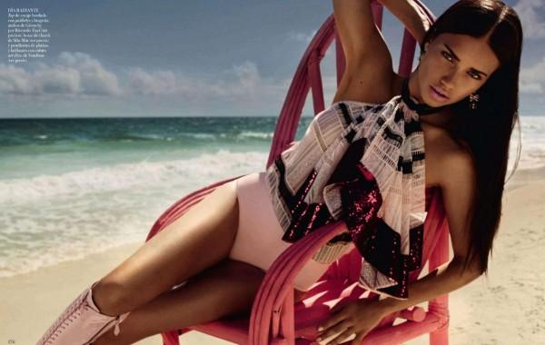 Adriana Lima - Vogue Spain (May 2014)