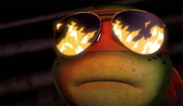 Teenage Mutant Ninja Turtles - Pizza Face
