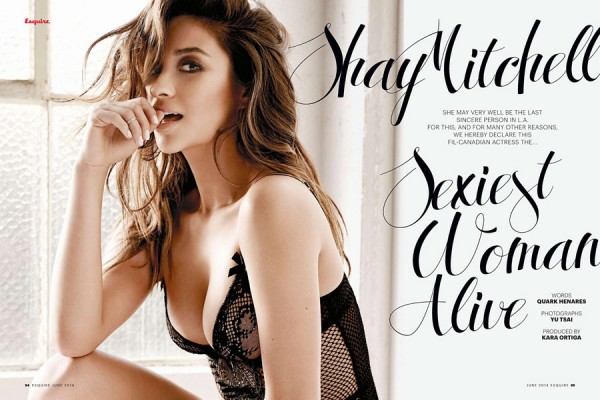 Shay Mitchell - Esquire Philippines (June 2014)