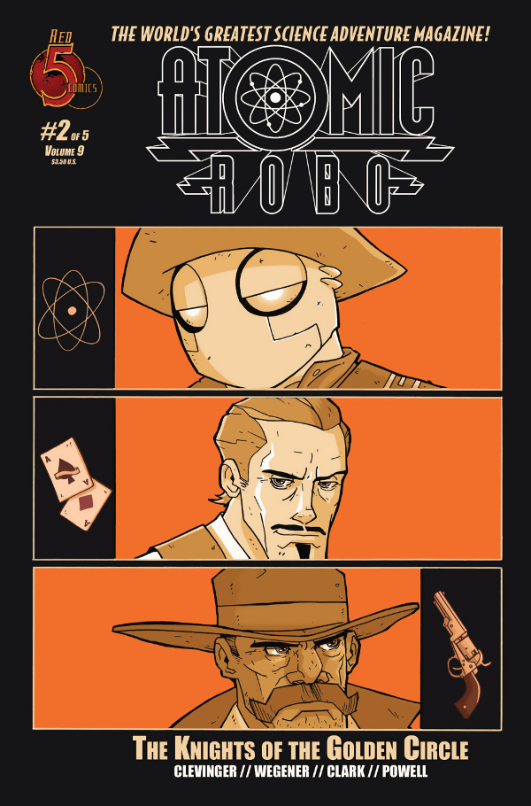 Atomic Robo: The Knights of the Golden Circle #2