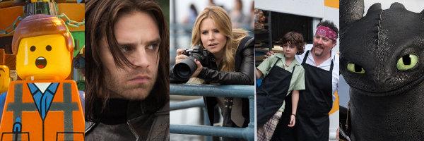 The Top Ten Movies of 2014 (so far)
