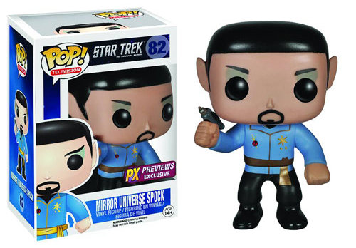 Star Trek 'Mirror, Mirror' Spock Pop! Vinyl Figure