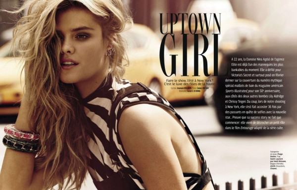 Nina Agdal - Grazia France (July 2014)
