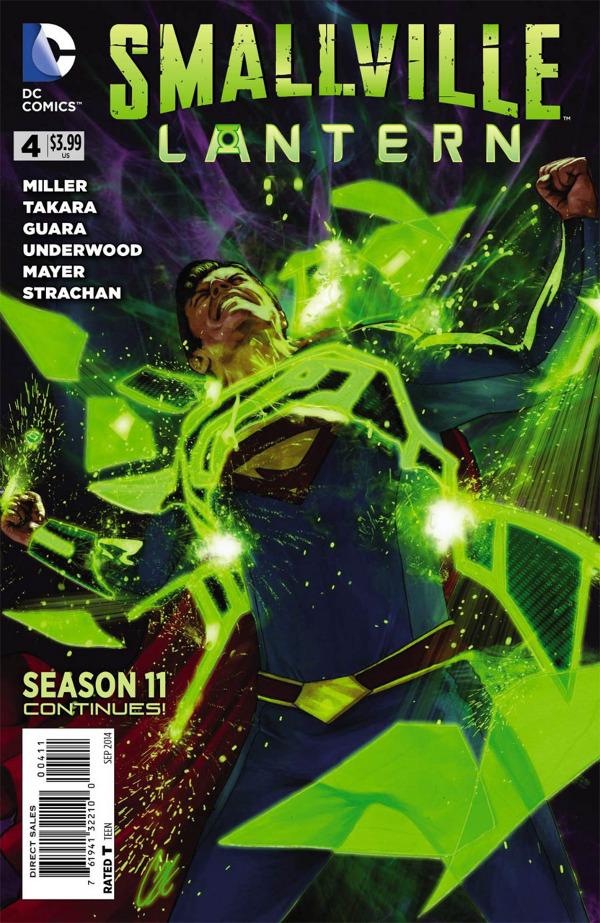 Smallville Season Eleven: Lantern #4