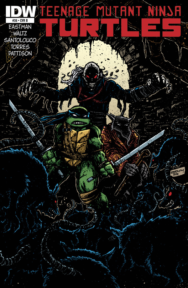 Teenage Mutant Ninja Turtles #36