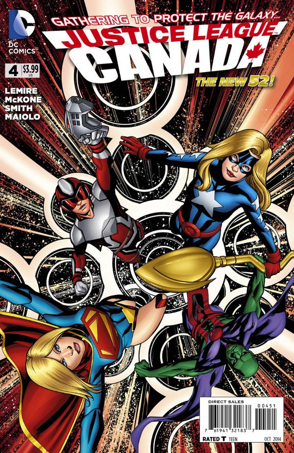Justice League United #4